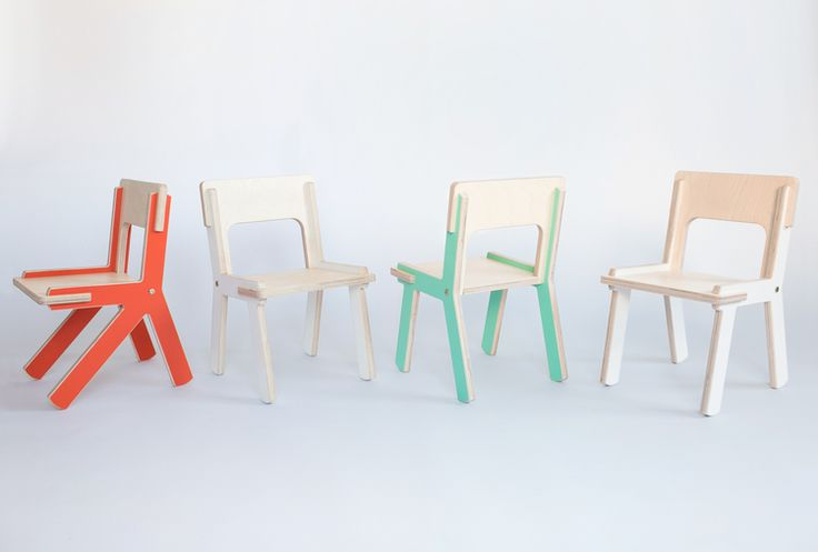 Color kids furniture. Детские стульчики Modl.