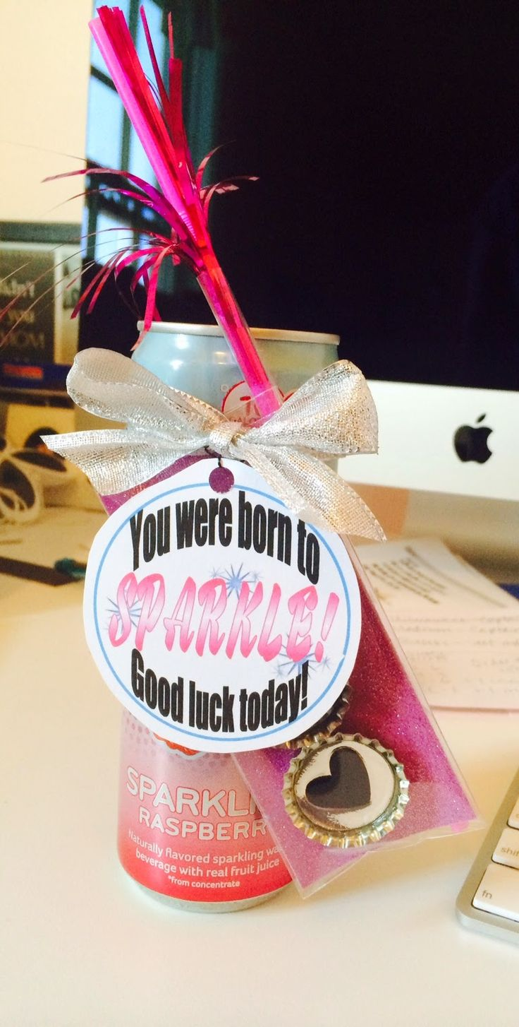 "The Lily of the Valley Craft Room....""You were born to Sparkle"" dance team favor or gift."