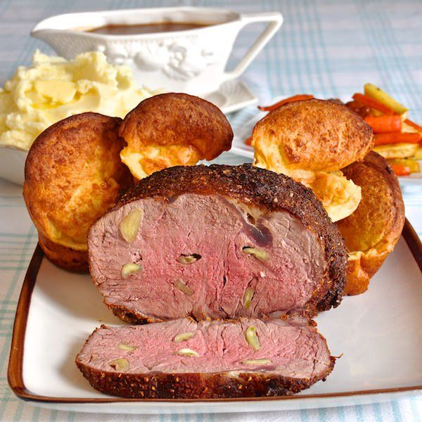 Smoky Spice Garlic Prime Rib with Side Dishes
