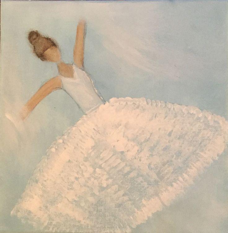 Ballerina. Sign by Maria Vane-Tempest, 2017