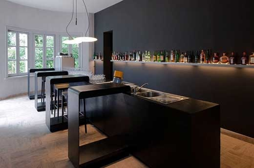 modern minimalist bedroom kitchen | 24 best images about Modern bar design on Pinterest ...