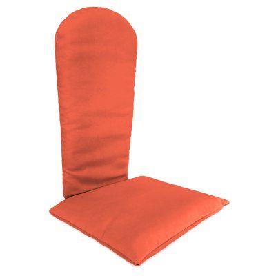 Jordan Manufacturing 49 X 20.5 Sunbrella Adirondack Chair Cushion Canvas  Melon   HN101PK1 439H | Products | Pinterest | Products, Jordans And Chair  Cushions