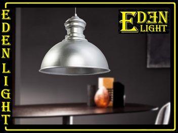 Pendant light  Caleb 077 silver by EDEN LIGHT