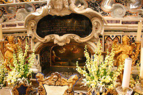 Tumba de San Benito y Santa Escolástica en Monte Cassino
