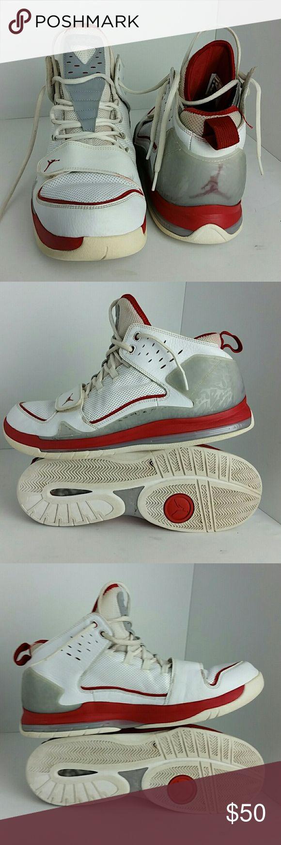 AIR JORDAN EVOLUTION 85 MEN'S SHOES IN GOOD CONDITION   SKE # KU4 Air Jordan Shoes Athletic Shoes