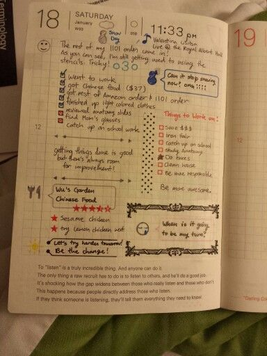 daily page