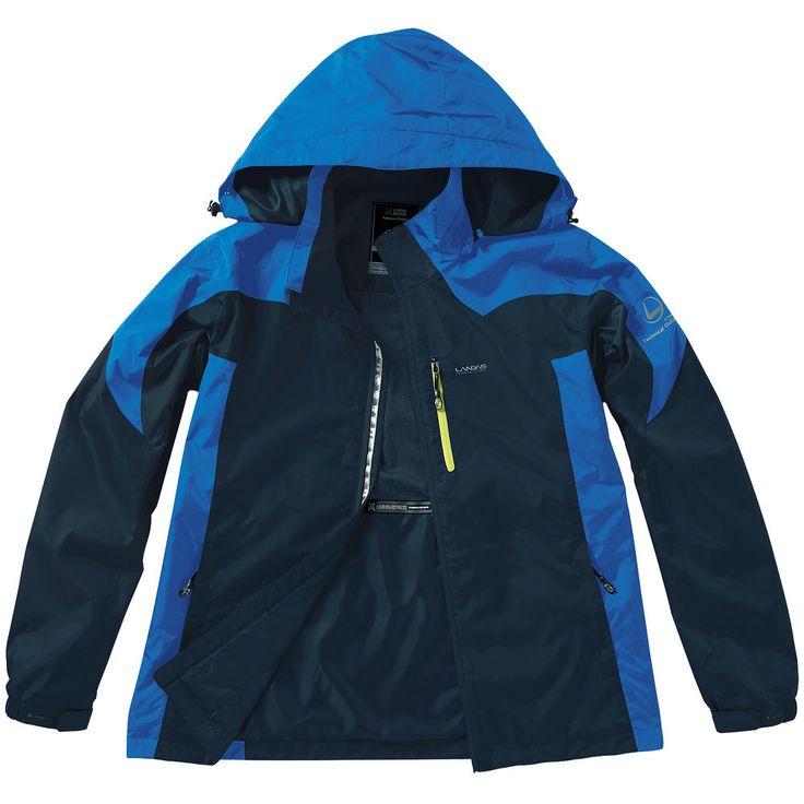 Windproof Waterproof Zip Up Jackets Outdoor Camping Travel Hoodie Rain Coat NAVY #hellobincom #WaterproofWindproof