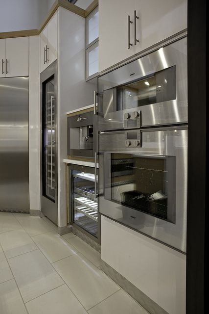 Gaggenau appliances @Gustaf Gagge Welt #kitchen #ovens #yale