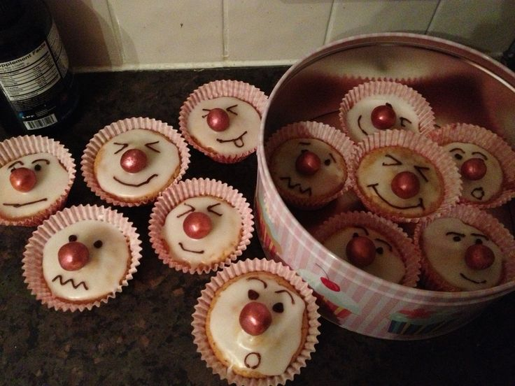 red nose day charity cupcakes