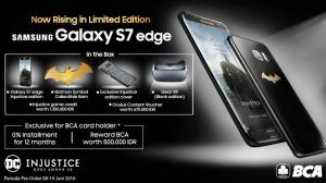 Galaxy S7 edge Injustice Edition available to pre-order in Indonesia