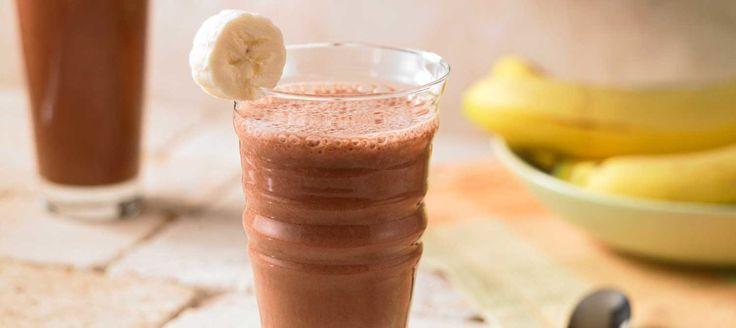 Chocolate and Banana Smoothie - Ninja Blender Recipes
