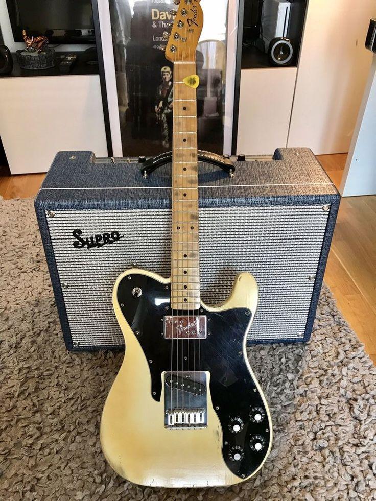 1972 Fender Telecaster Custom Hybrid Aged White Relic Fender