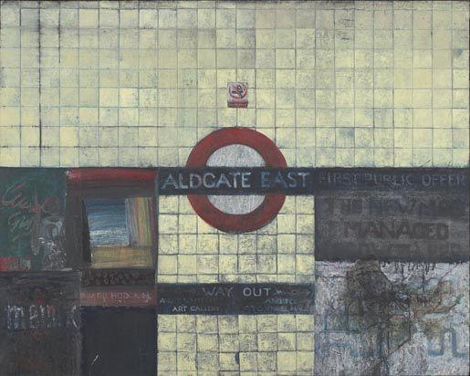 Aldgate East 1 by Jock McFadyen. (1997)