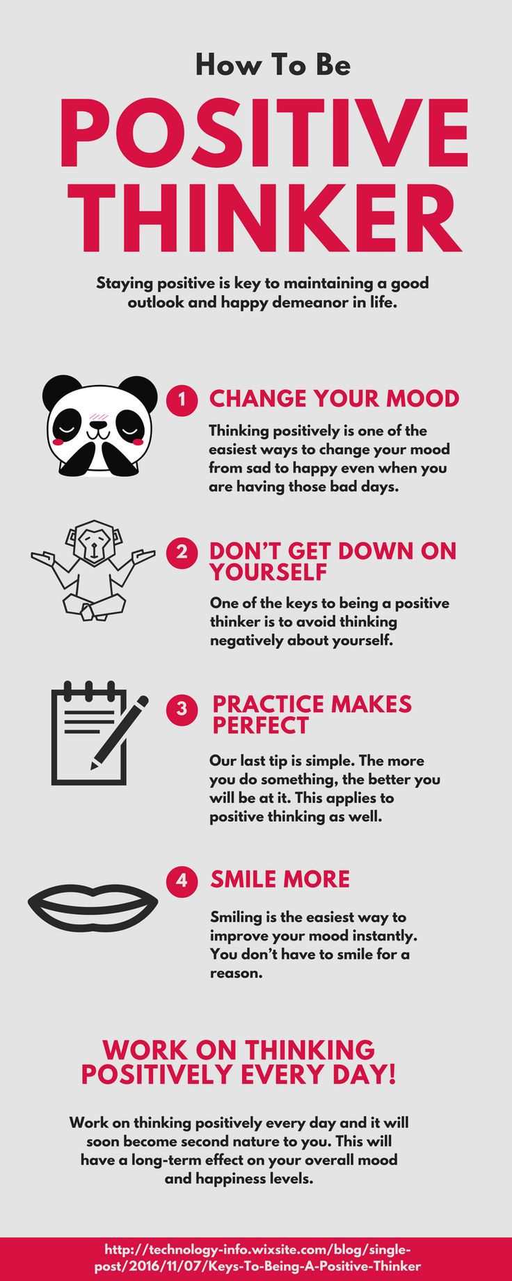 Single Post Positive thinker, Positive thinking tips