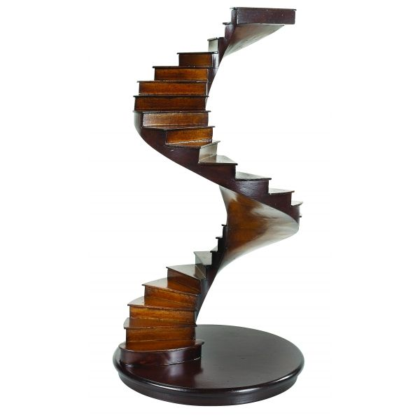Wooden Spiral Staircase Model