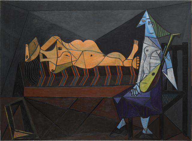 Pablo Picasso- L'Aubade, 1942