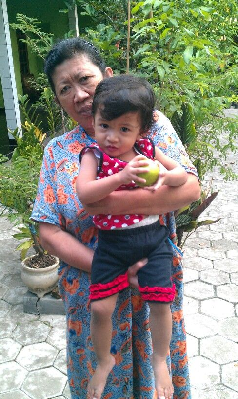 My mother and daughter ...