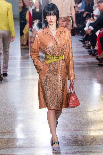 See the full Spring 2018 collection from Bottega Veneta.