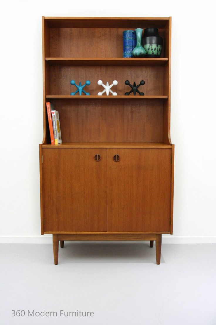 Mid Century Sideboard Shelving Bookcase PARKER Nordic Wall Unit Retro Vintage in Home & Garden, Furniture, Sideboards, Buffets & Trolleys | eBay 360 Modern Furniture