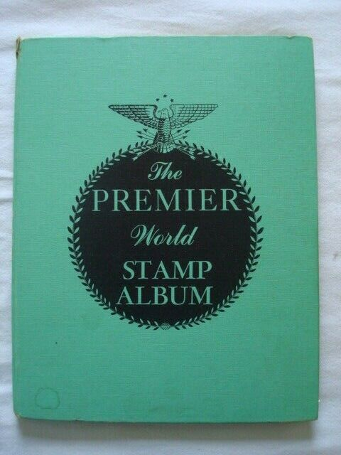 The Premier World Stamp Album With Foreign Stamps Only
