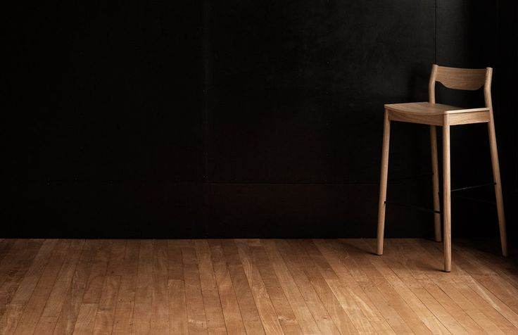 Tangerine Stool with Back Simon James from Resident NZ.