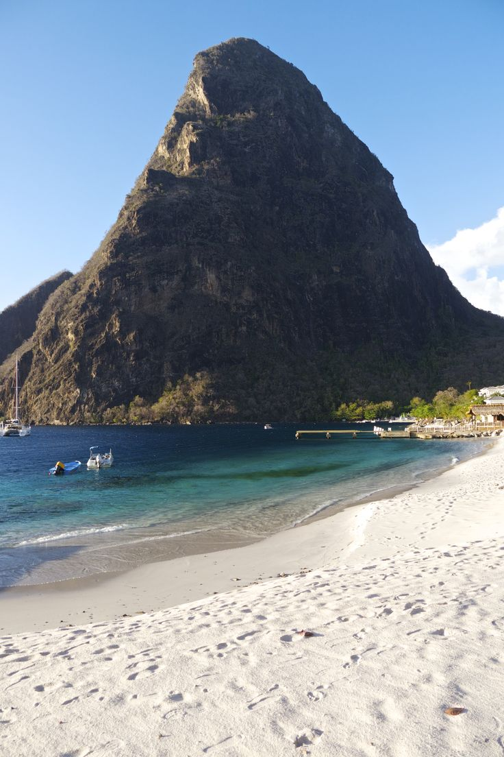 St Lucia is a paradise island and it can easily be enjoyed on a budget despite catering to cruise ships and luxury tourism. #Travel #Caribbean #StLucia