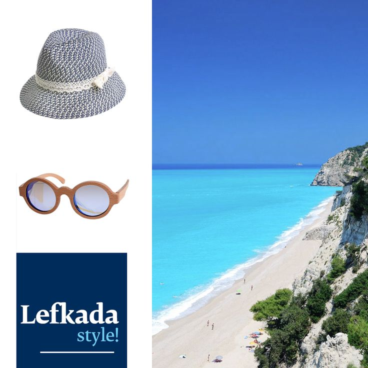 Visiting the gorgeous island of Lefkada this September? All you need to be in style is a beautiful hat and your trendy wooden sunglasses. Find them all here www.ble-shop.com #blestyle
