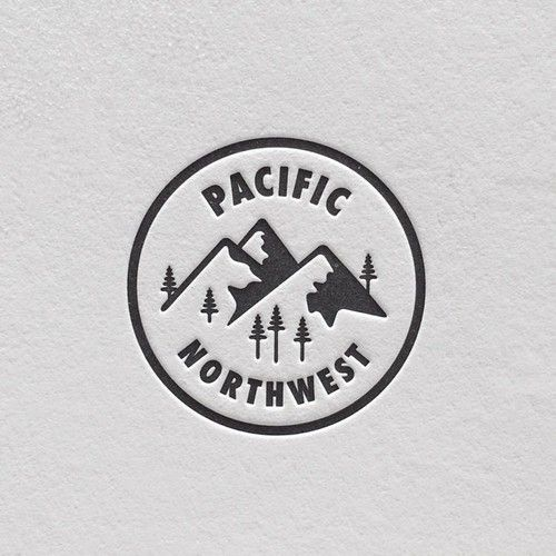 I nice example of an embossed logo for Pacific Northwest.