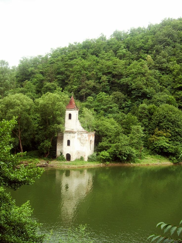 Hunedoara, România (this church can often go unnoticed for it goes underwater)