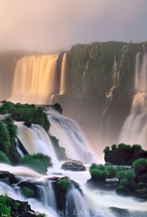 Waterfalls, Iguacu National Park, Brazil