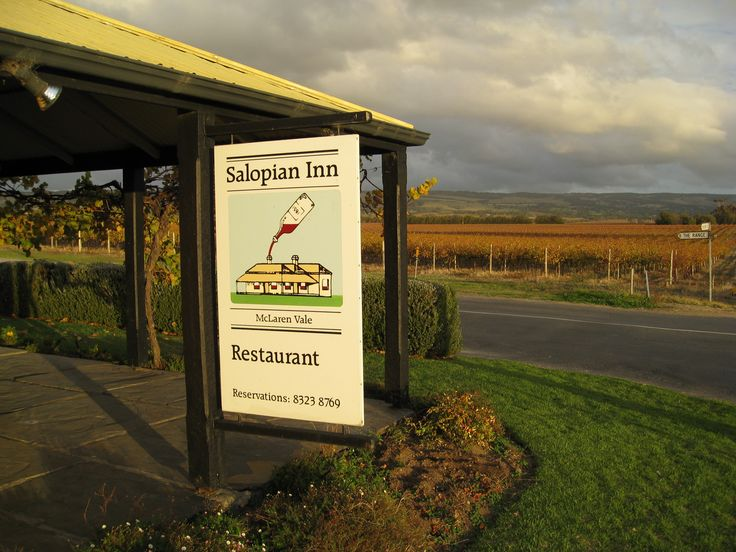 The Salopian Inn, McLaren Vale - always worth a visit for a long leisurely lunch