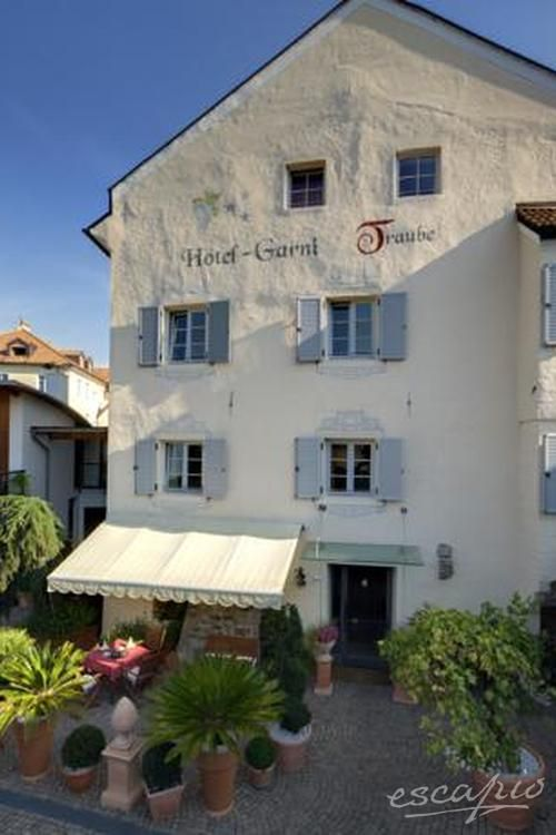 Zauberhaft: Das Hotel Traube Brixen in Sütdtirol. Italien.
