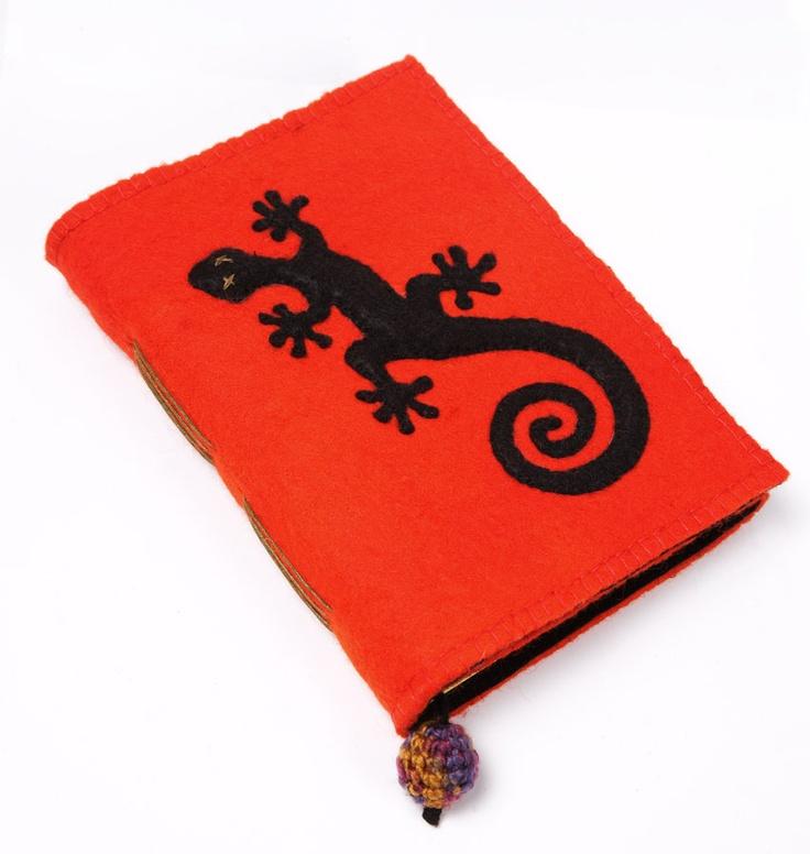 handmade journals-felt