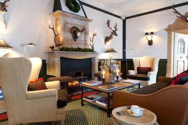 Design Ideas from the Austria's Jagdgut Wachtelhof Hotel