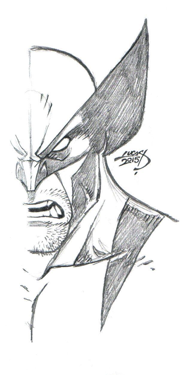 Wolverine SKETCH 2015 by LucasAckerman on DeviantArt