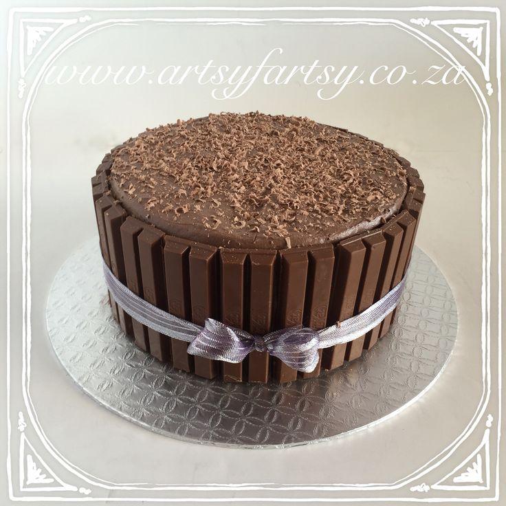 Kit Kat Chocolate Mouse Cake #kitkatchocolatemousecake