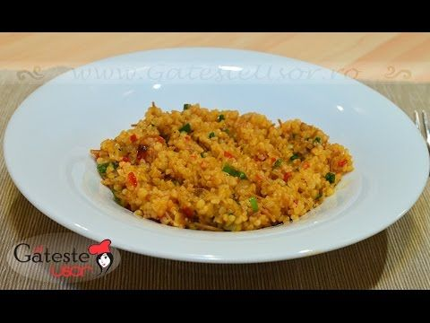 Bulgur cu legume | GatesteUsor.ro