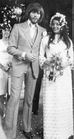 Barry and Linda Gibb....Barry's second wife...