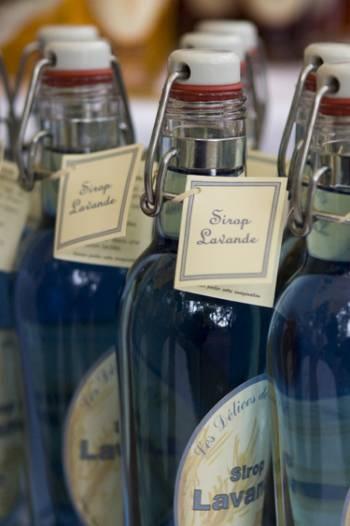 Lavender syrup. Kirsten Wheeler Photography.  www.kirstenwheeler.co.uk
