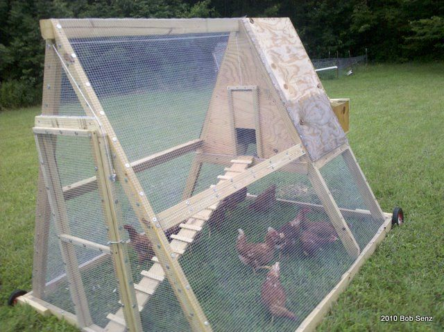 60 best chicken tractor plans images on pinterest for Big chicken tractor