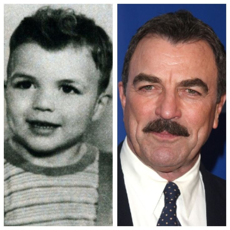 Tom Selleck, b. 1945 . . . well no wonder... He has always been gorgeous !!!