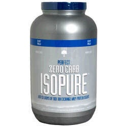 Nature's Best PERFECT ZERO CARB ISOPURE contains 50 grams of 100% Whey Protein Isolate. Any and all impurities typically found in most whey proteins have been removed to provide you with a great tasting, lactose free, glutamine enriched, state of the art carbohydrate free protein supplement.