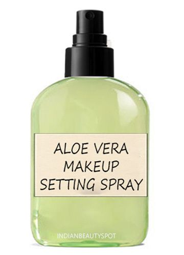 Aloe Vera Makeup Setting Spray 3 Part Water 1 Part Aloe