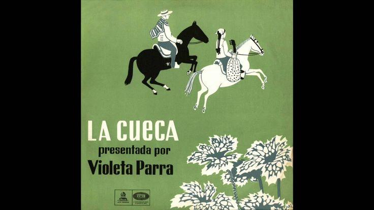 La cueca presentada por Violeta Parra (1959) [Álbum completo]