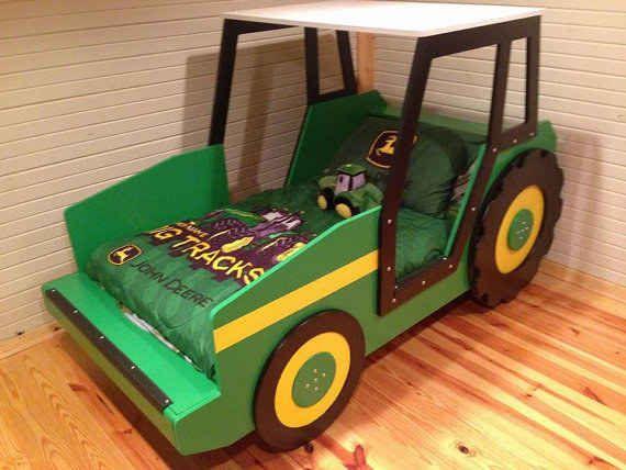35 besten traktorbetten tractor bed bilder auf pinterest traktoren kinderbetten und betten. Black Bedroom Furniture Sets. Home Design Ideas