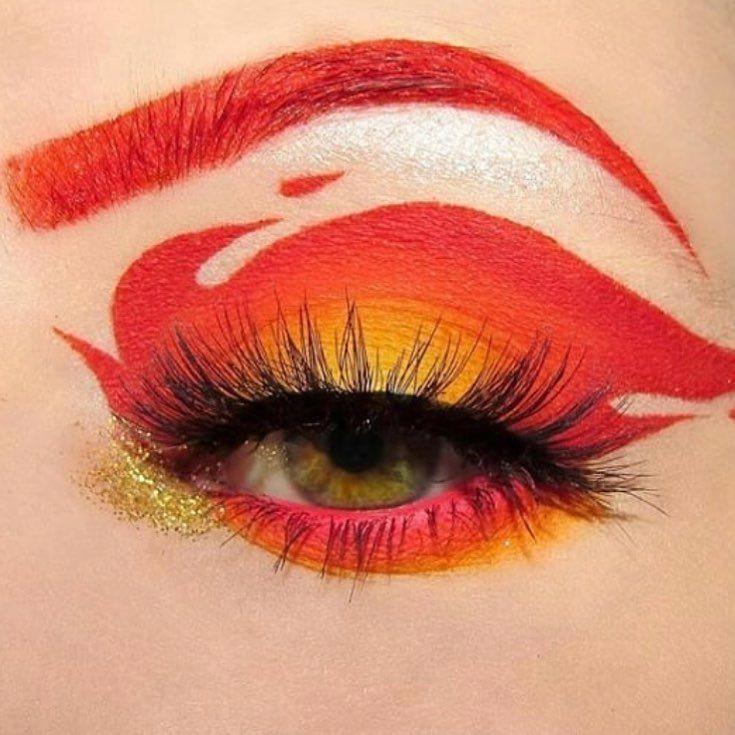Eye Makeup Allergy Symptoms Eyemakeup Fire Makeup Crazy Makeup