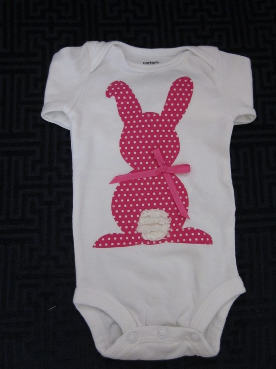 Easter onesie: totally gonna make this!