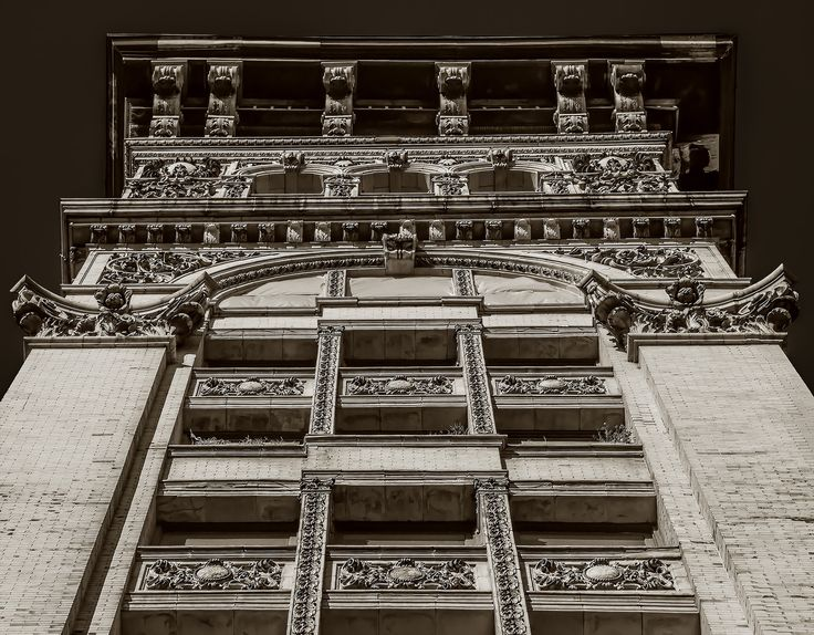 Cast Iron Architecture in Soho New York