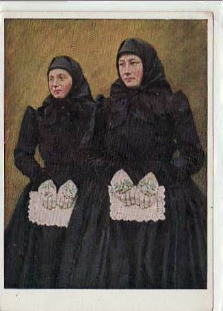 Alte Ansichtskarten Postkarten von Antik-Falkensee Trachten aus Liebling Banater Schwaben Rumänien-Romania