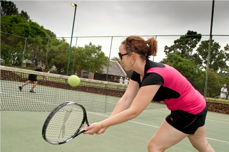 Play a round of tennis